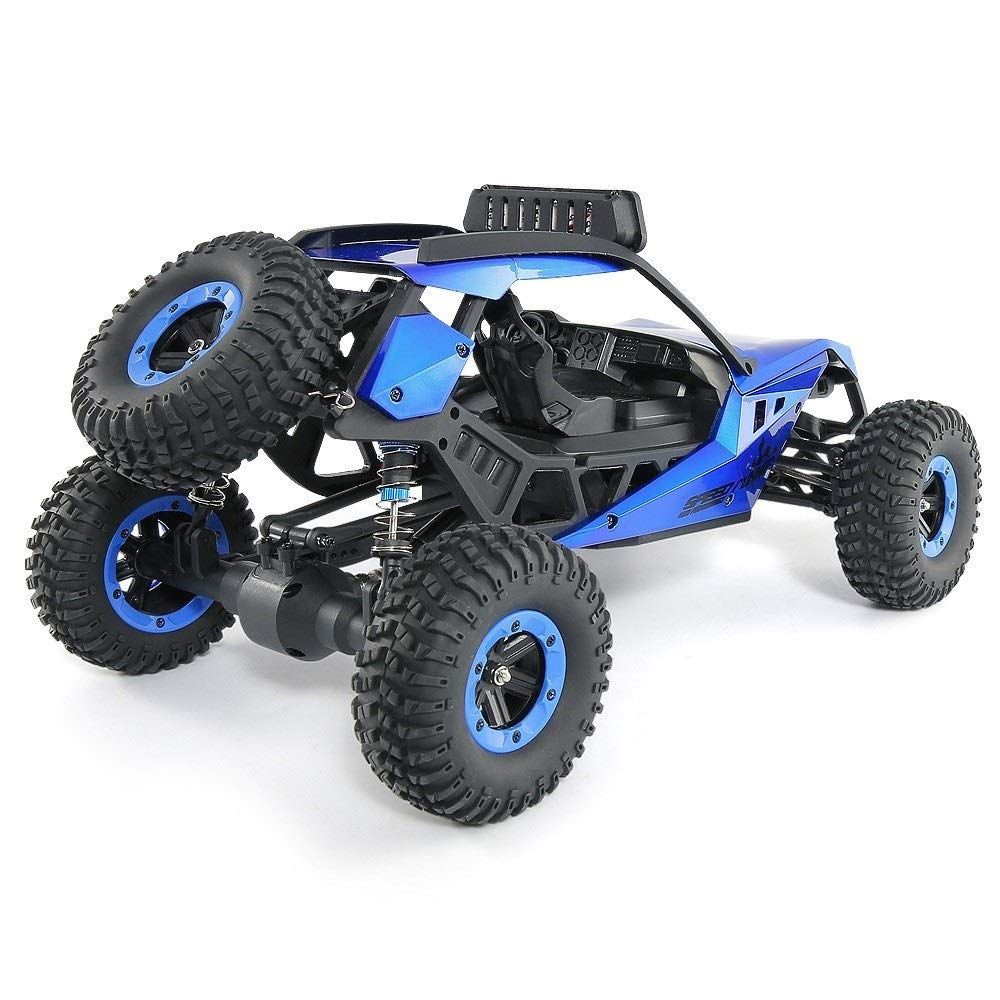 TBFEI 1/12 All Fields Drift RC Racing Car RTR Toy Christmas Birthday Dream Gift for Children and Adults-38.52318cm 4WD 45Km/k High Speed RC Violent Off-Road Racing (Color : Blue) by TBFEI (Image #5)