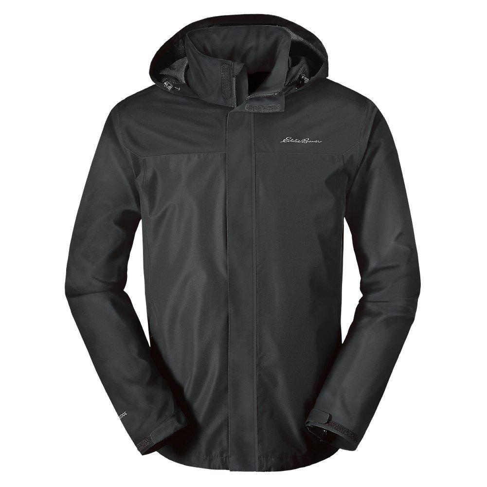 Eddie Bauer Men's Rainfoil Packable Jacket, Dk Smoke Regular XL