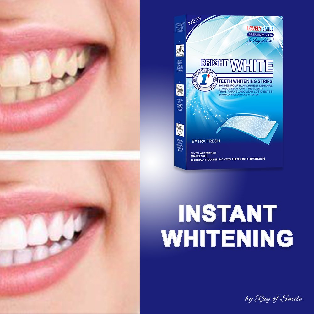 Amazon Com Professional Teeth Whitening Strips With Non Slip Tech