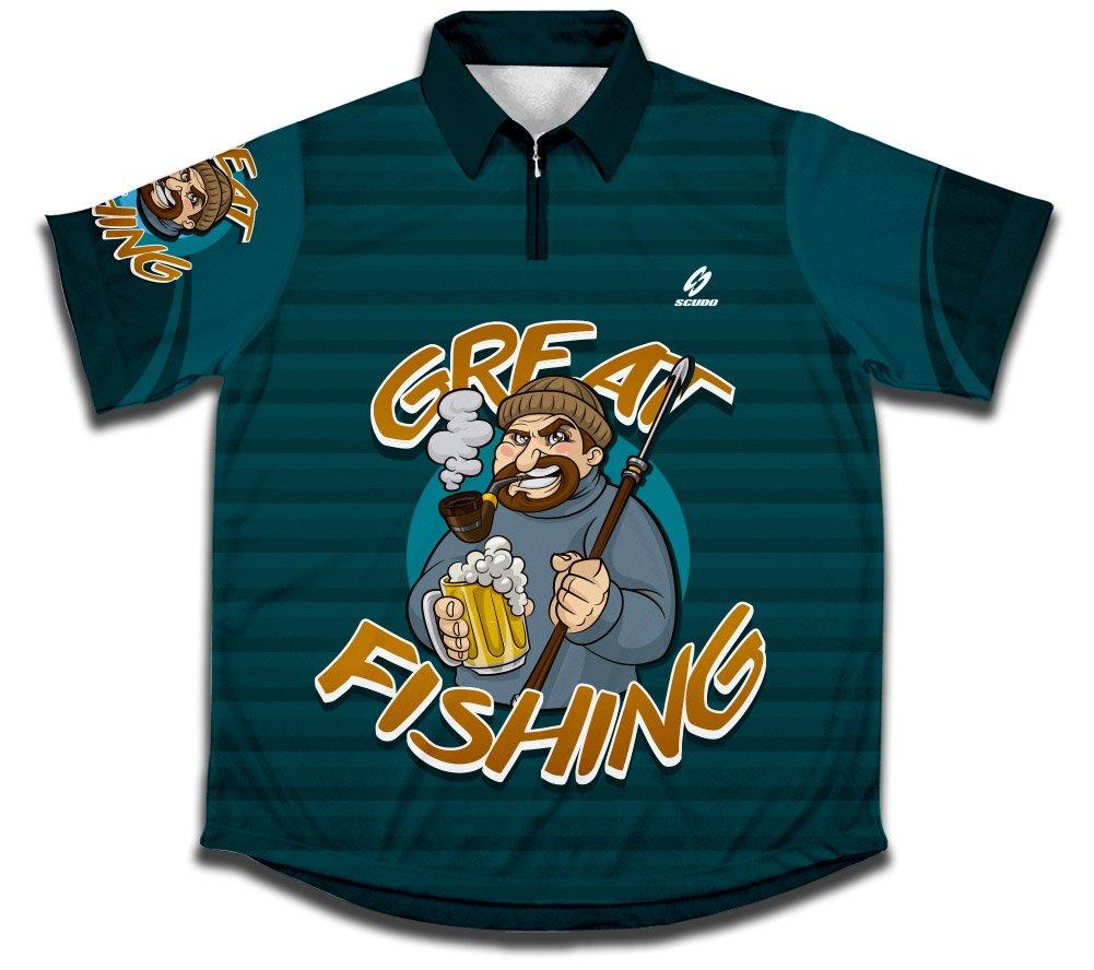 ScudoPro Great Hemd des Sportlichen Fischfangs