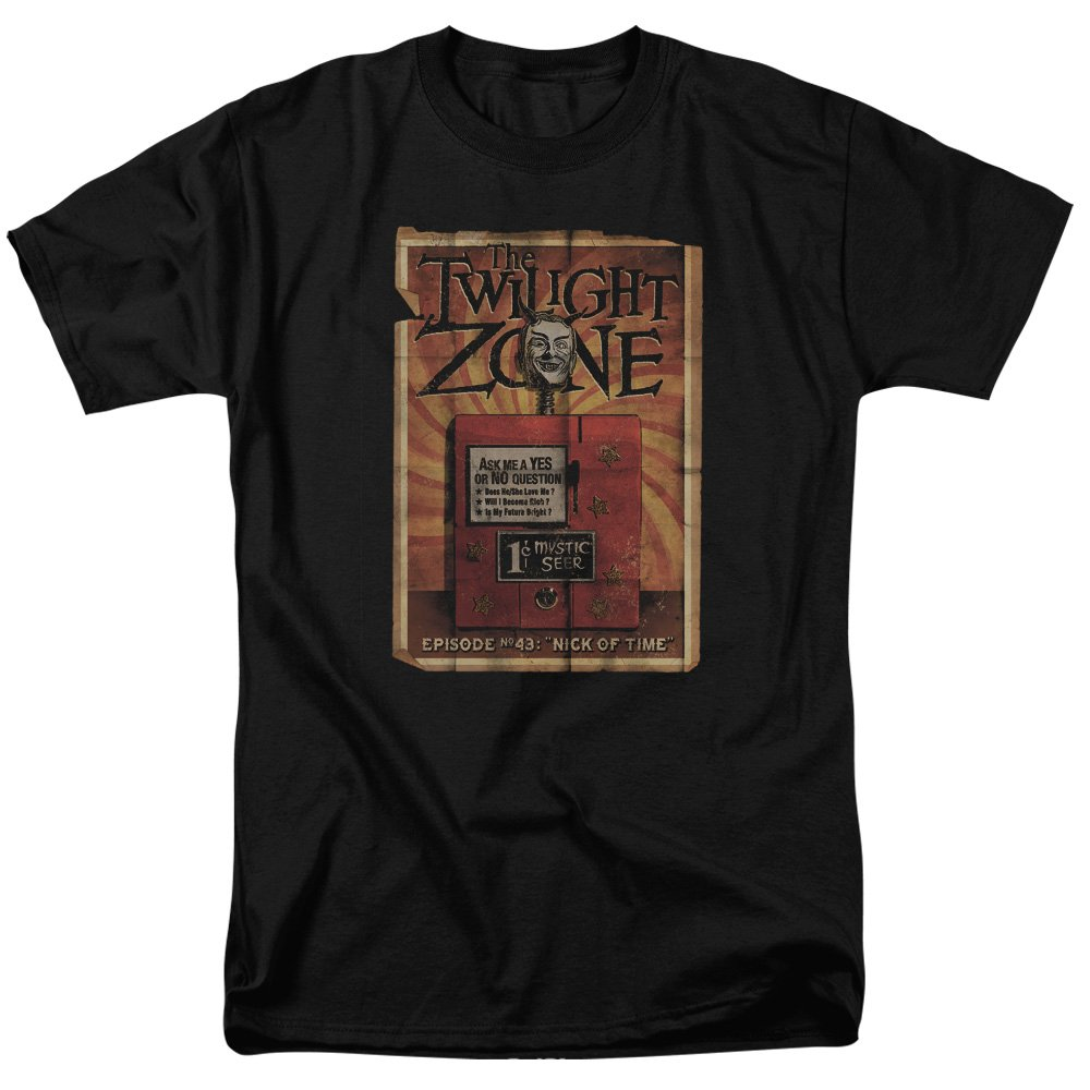 Twilight Zone TV Series CBS Seer Adult T-Shirt Tee