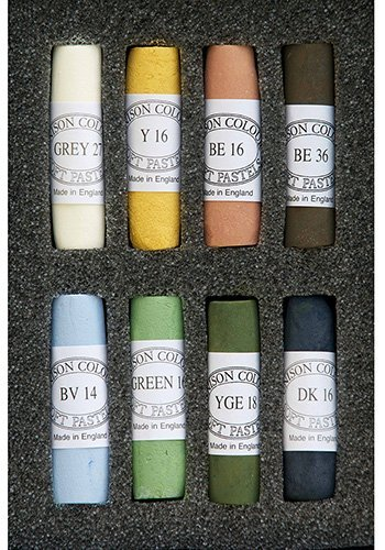 Unison Soft Pastels Set of 8 Landscape
