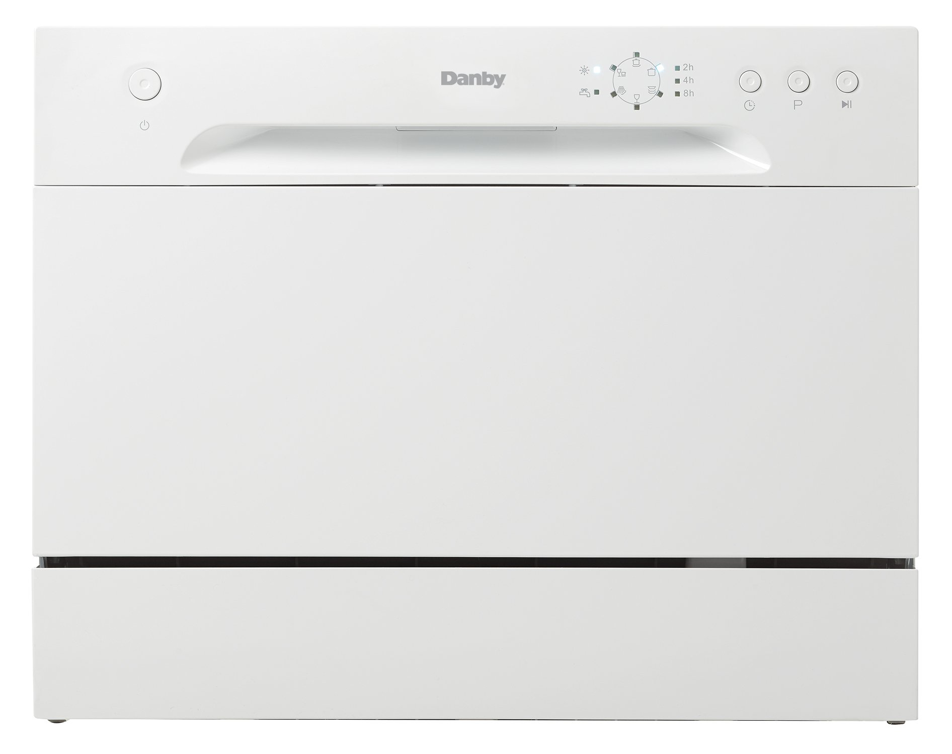 (New Model) Danby DDW621WDB Countertop Dishwasher, White by Danby