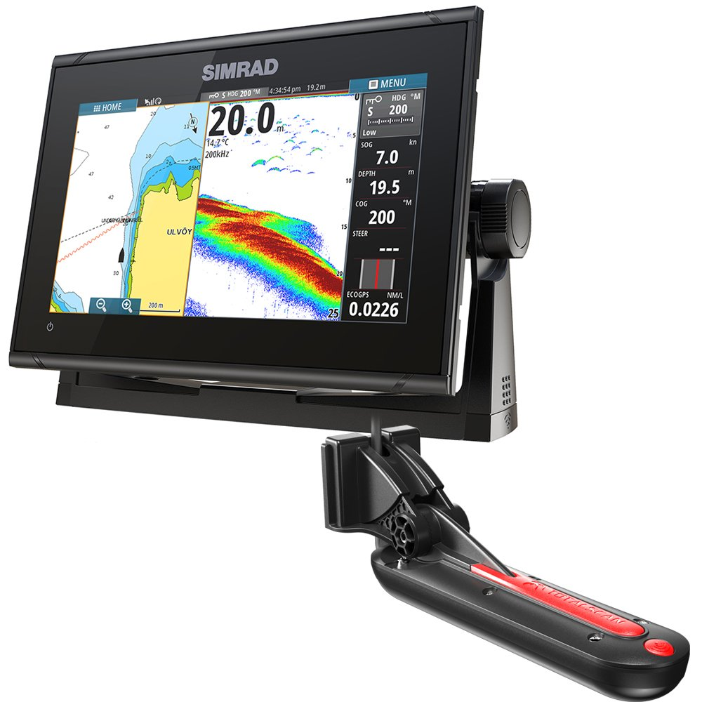 Simrad GO9 XSE 9'' (22.86 cm) Chartplotter w/TotalScan Transducer & C-Map Insight Pro