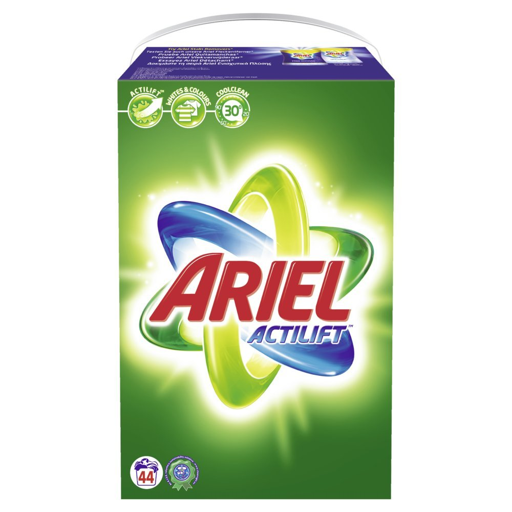 Ariel Regular transporte Paquete - 44 WL, 1er Pack (1 x 3,52 kg ...