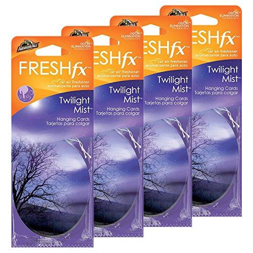Mist Hanging - Armor All FRESHfx Car Air Freshener Hanging Card, 12-Count (Twilight Mist)