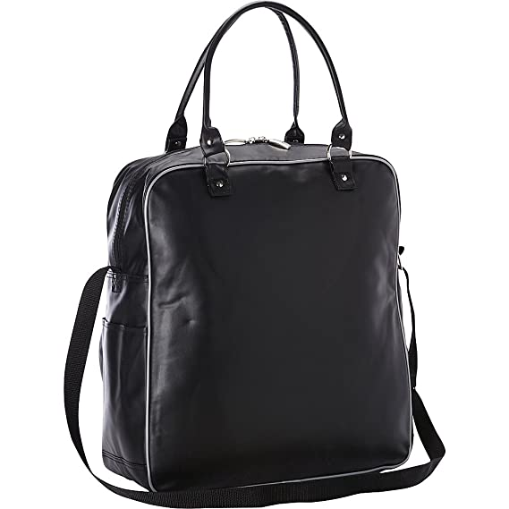 13a3b04c53 Amazon.com: GOODHOPE Bags Metro Court Chic Duffel, Black: Sports & Outdoors