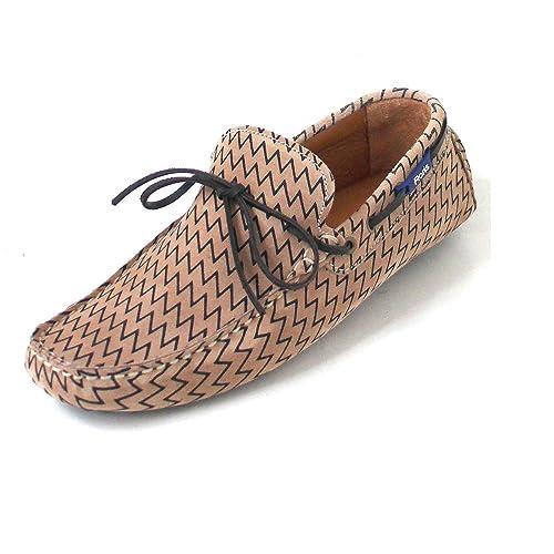 Floris van Bommel - Mocasines para niño, color marrón, talla 42.5 EU: Amazon.es: Zapatos y complementos