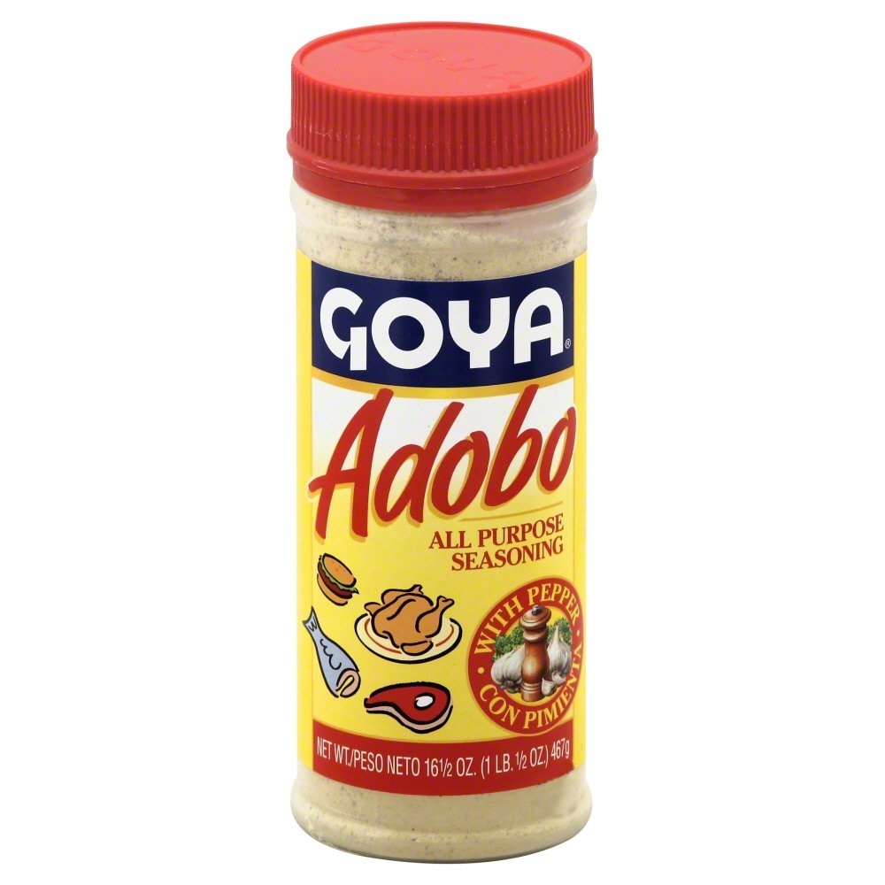 Goya Adobo with Pepper 16.5 OZ(Pack of 12)
