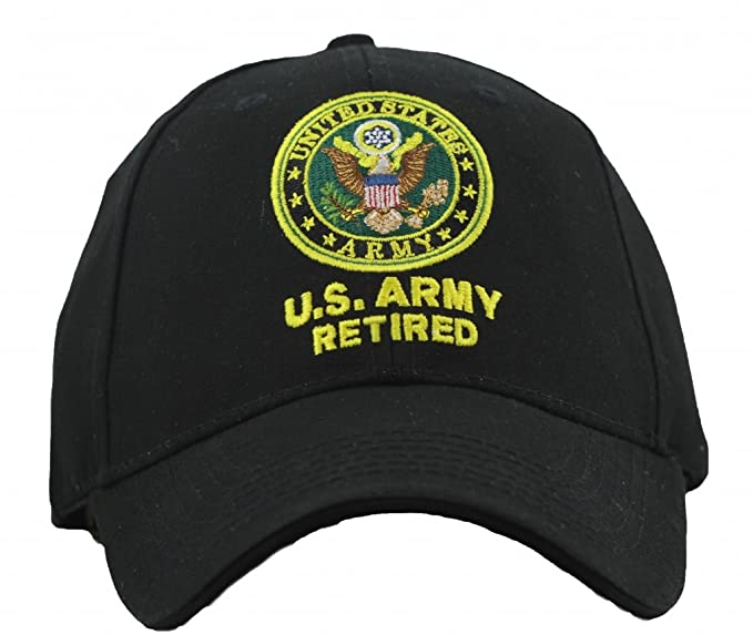 a5f7d98cf1c Image Unavailable. Image not available for. Color  US Army Retired Cap  United States Army Retired Hats Military Collectibles Gifts