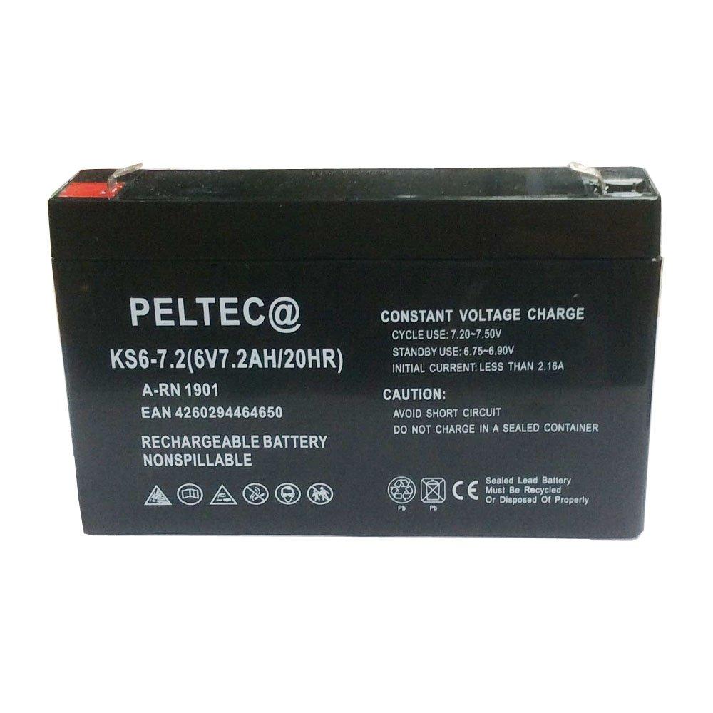 PELTEC Premium Gel Blei AGM Akku Batterie Modellbau SolarNotstrom 12V  7,2Ah 7Ah
