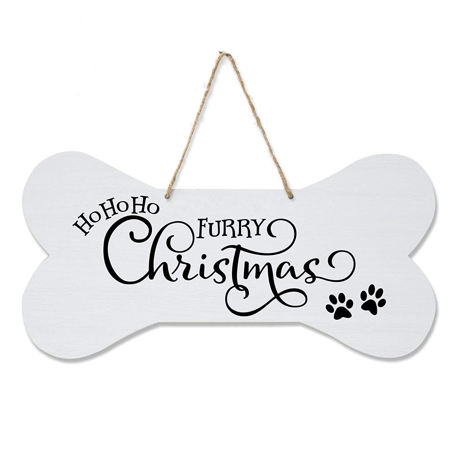 Dogs Welcome Tin Metal Sign 16 x 13in