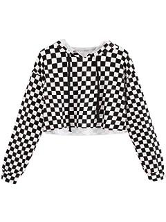 0eb98161a148 Amazon.com: Kids Crop Tops Girls Sweatshirts Cute Long Sleeve ...