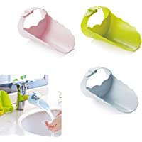 Faucet Extender for Kid, 3 Pack Sink Faucet Extender for Toddler Hand, Wash Helper Bathroom Sink for Babies and Children…