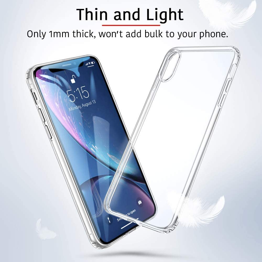 ESR iPhone XR Case iPhone XR Cover with Slim Clear Soft TPU 1.1