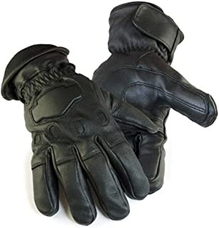product image for Northstar Mens Deerskin Gauntlet Cycle Glove Lined 150 gram Thinsulate, 034B
