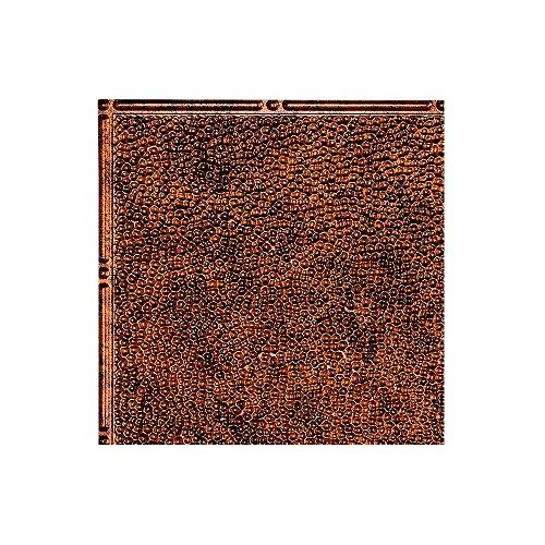 FASÄDE Easy Installation Border Fill Moonstone Copper Glue Up Ceiling Tile/Ceiling Panel (12X12 Inch Sample)