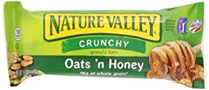 Nature's Valley Granola Bars, Crunchy Oats N Honey, 50 Pouches Equals 100 Bars