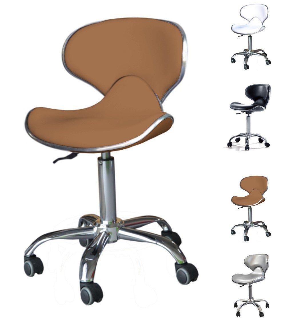 POLIRONESHOP VALI Taburete silla giratoria para estetica manicura tattoo masaje: Amazon.es: Juguetes y juegos