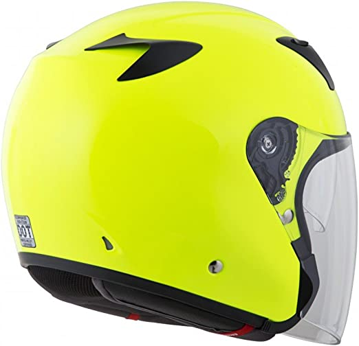 22-0504 Scorpion EXO-CT220 Street Motorcycle Helmet Neon, Medium