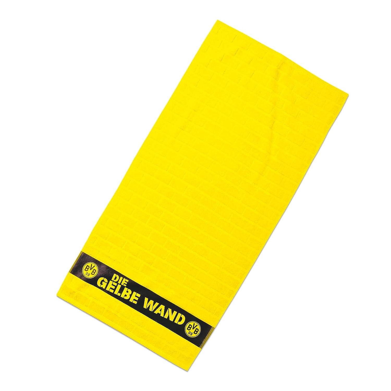 Borussia Dortmund BVB-Duschtuch Gelbe Wand 70x140cm one Size