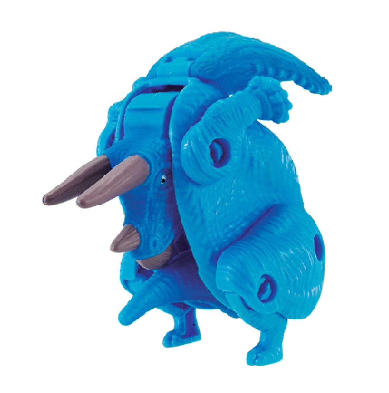 Hatch n Heroes Triceratops Transforming Figure Bandai America Incorporated 39454