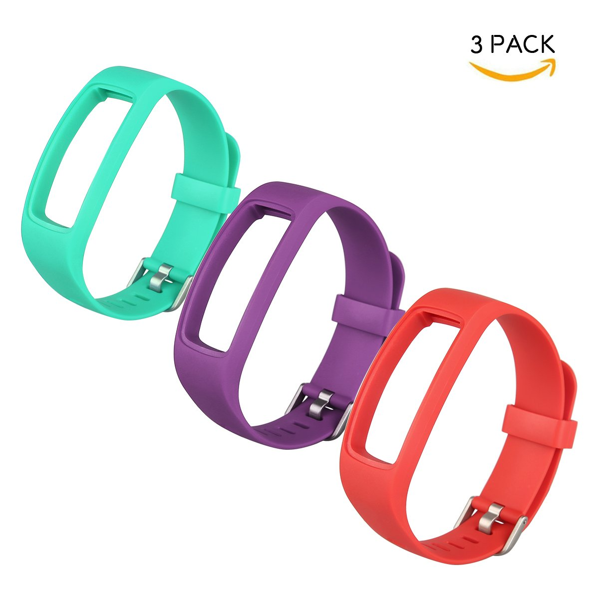 Reemplazable reloj banda para bonebit V2 Fitness Tracker reloj pulsómetro con cierre con hebilla de metal azul & negro (no incluye bonebit V2 Fitness ...