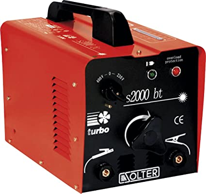 Solter 03057 Transformador de soldadura SB 2000BT 6.2 W, 240 V