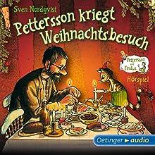 Pettersson kriegt Weihnachtsbesuch (Pettersson und Findus Hörspiel) Hörspiel von Sven Nordqvist Gesprochen von: Laura Maire, Jens Wawrczeck, Fred Maire