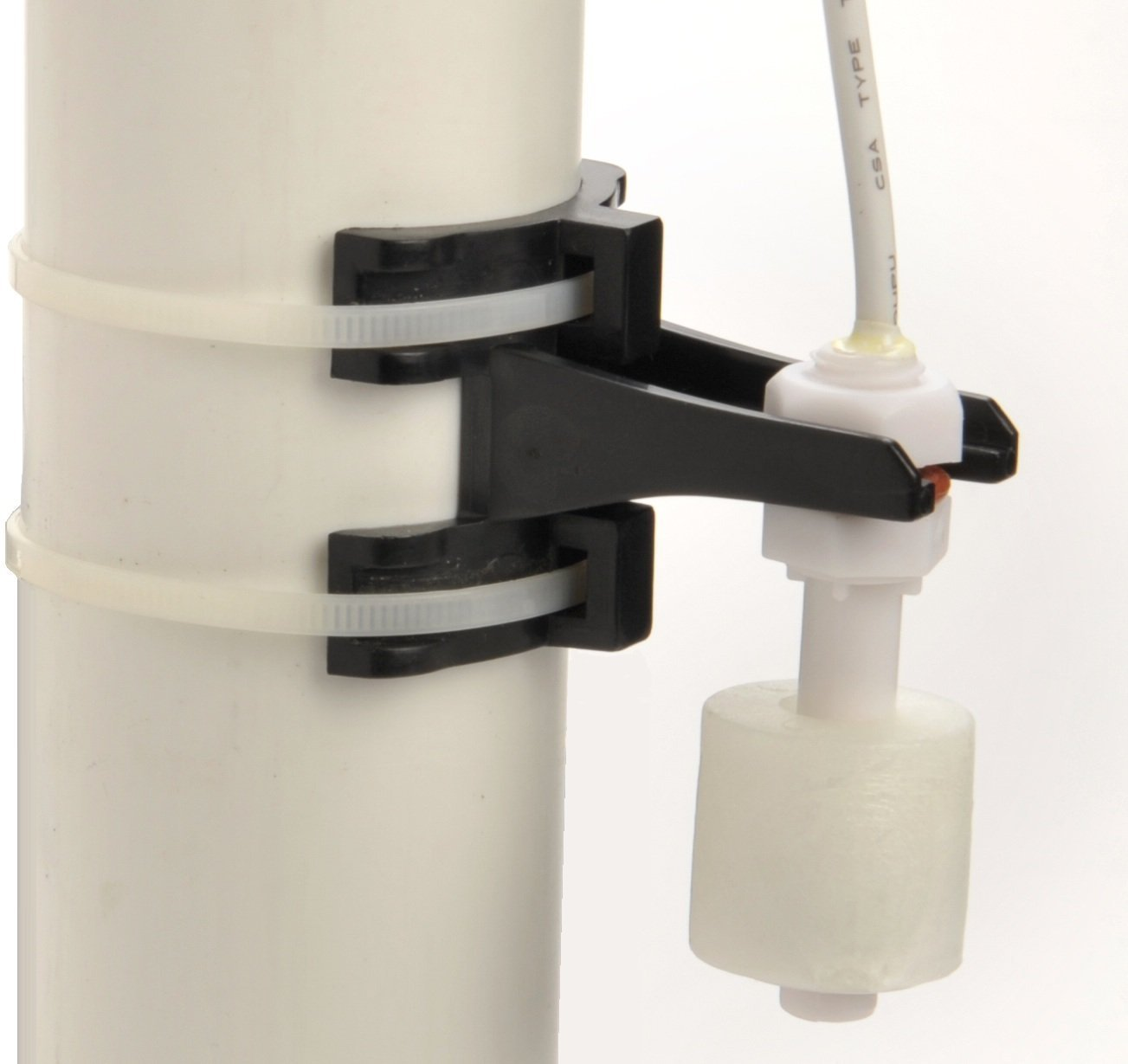 Level Sense 15 Feet Water Level Float Switch with Mounting Brackets