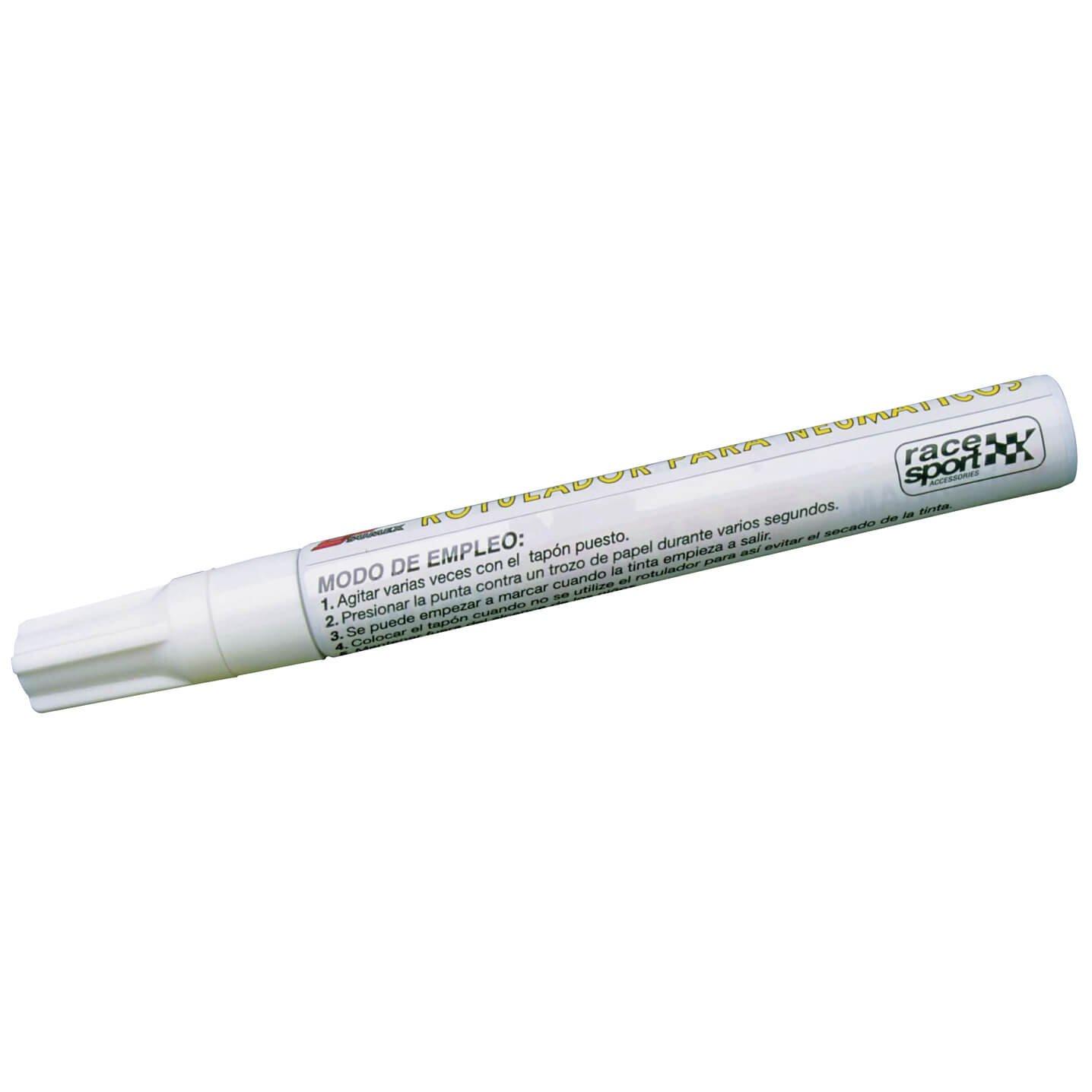 SUMEX 4002080 - Rotulador para Neumáticos, Color Blanco: Amazon.es: Coche y moto
