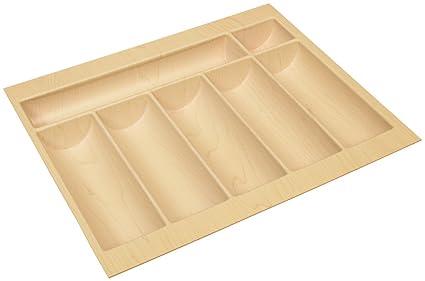 """Bandeja de cajón para cubiertos 2,5 mm think plástico 12 """"de ancho"""