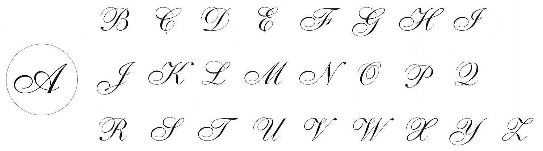 J.Herbin 40120T Siegel rund mit HolzGriff Italic-Buchstabe T