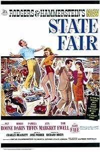 State Fair Póster de película 11x 17en–28cm x 44cm Pat Boone Ann-Margret Bobby Darin Tom Ewell Alice Faye Pamela Tiffin