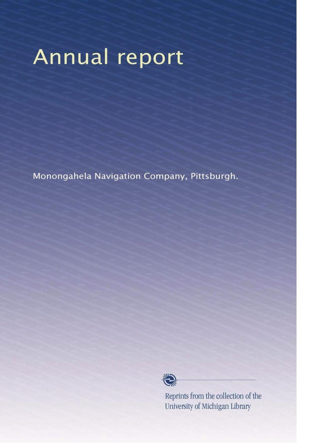 Download Annual report (Volume 3) pdf epub