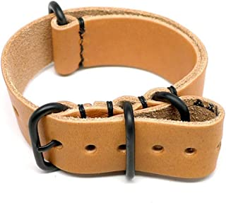 product image for DaLuca Military Watch Strap - Natural Essex (PVD Buckle) : 22mm
