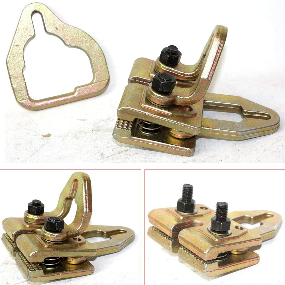 5 Ton Multi Way Frame Single Rack Straight Way or Cross Way Clamp Dent Puller L64754