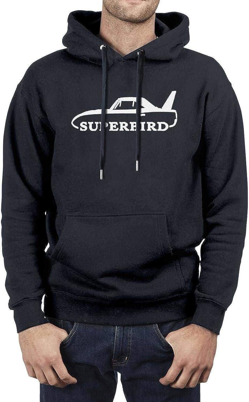 Pl-ymouth Su-perbird Mens Cool Pullover Hoodies Cotton Sweatshirts Xmbmkj 1970