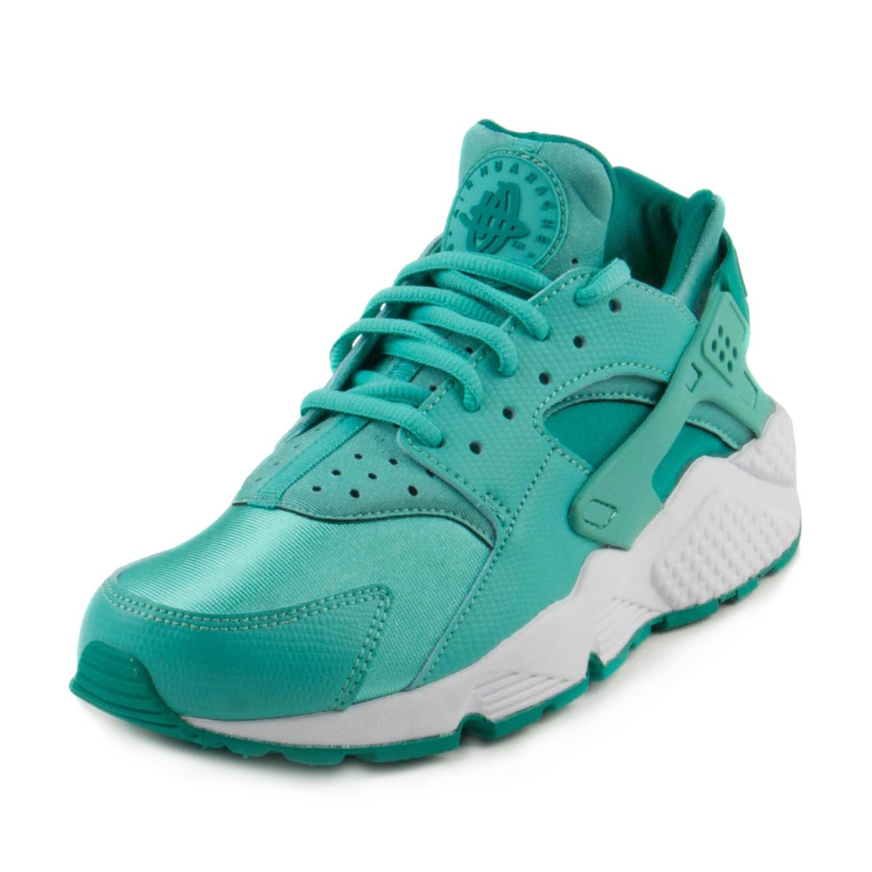 c2d09fb085308 Galleon - NIKE Womens Air Huarache Run Training Running Shoes Blue 6 Medium  (B