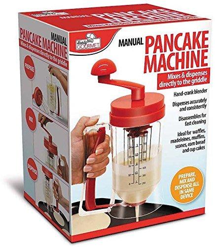 OOFAY Manual Máquina de masa Dispenser Pancake Desayuno Cup tartas ...