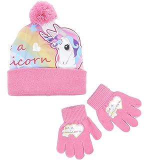 Lumanuby Children Hat Wool Cap Cartoon Unicorn Handmade Knitted Hat For Boy And Girls Winter Warm Earmuffs Nice Christmas Gift For Your Children