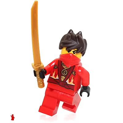 LEGO NinjaGo MiniFigure - Kai Rebooted (with Katana Sword) 70721: Toys & Games