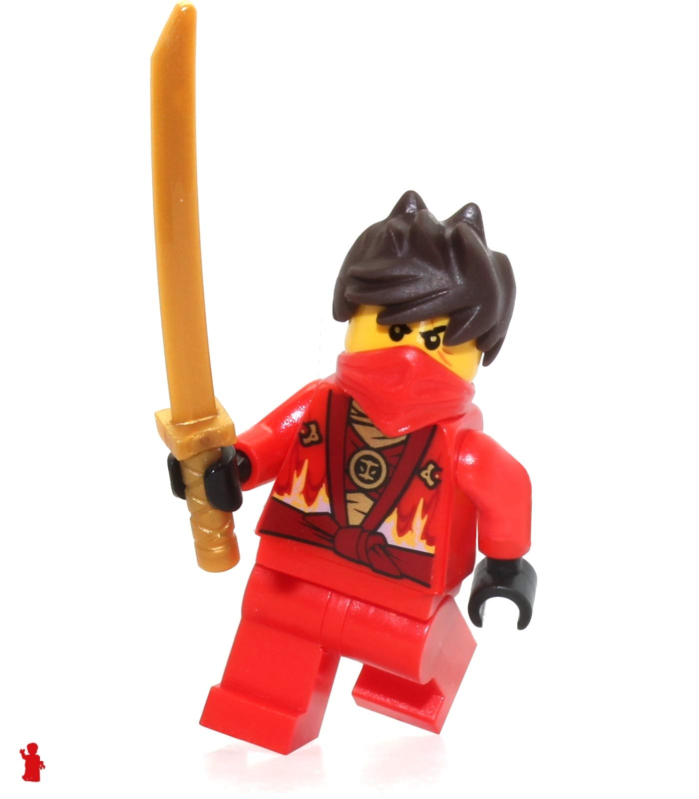 LEGO NinjaGo MiniFigure - Kai Rebooted (with Katana Sword) 70721