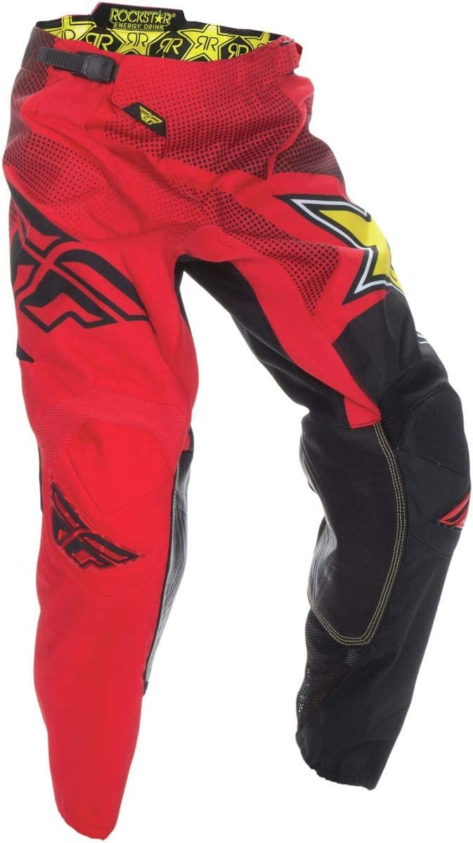 Fly Racing 2017 Kinetic Pants Rockstar 28 Short Red//Black