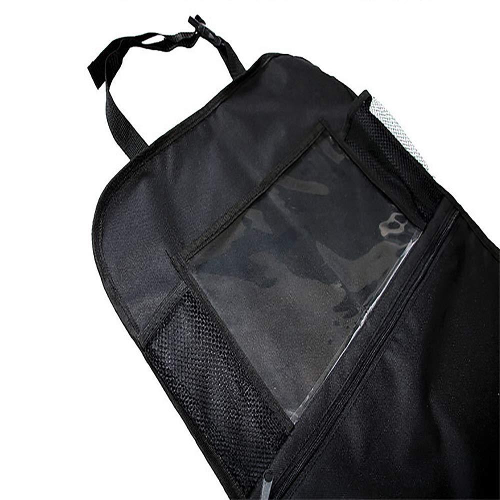 Siumir 2 Pezzi Protezione Sedile Auto Universal Multi-Tasca Auto Organizzatore Impermeabile Sedile Protettore