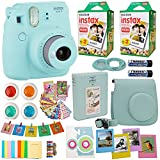 Best polaroid camer - Fujifilm Instax Mini 9 Instant Camera Ice Blue Review
