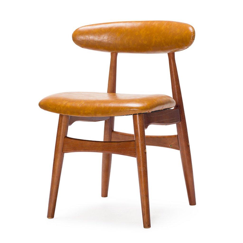 ZXLDP ダイニングチェア モダンなダイニングチェアソリッドウッドの背もたれの椅子シンプルなレトロカフェのオフィスチェア(カラーオプション付き) ( 色 : #2 , サイズ さいず : B ) B078GB7FGL B|#2 #2 B