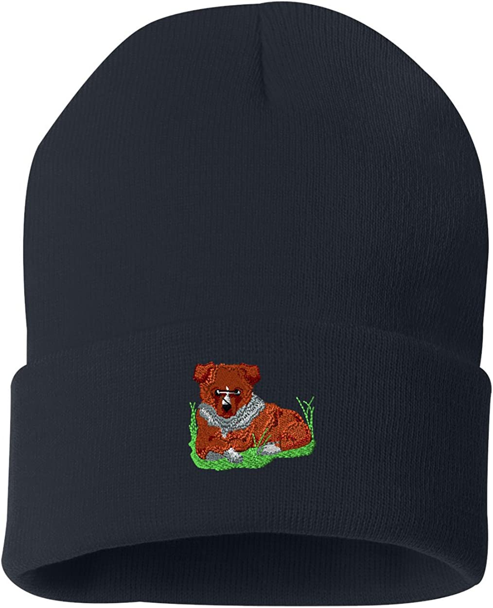 Shetland Sheepdog Custom Personalized Embroidery Embroidered Beanie