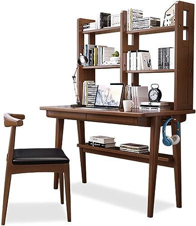Juego de mesa para silla de escritorio para niños Escritorio de la computadora escritorio con estantes de almacenamiento de escritorio de oficina Estudio mesa de juego escritorio de trabajo for Minist: Amazon.es: