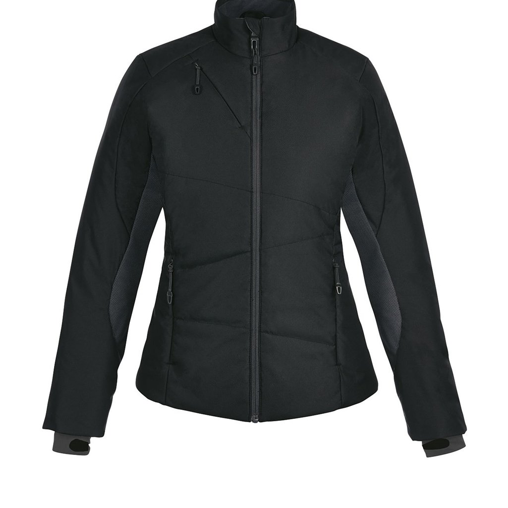 Ash City Ladies North End Sport Immerge Insulated Hybrid Jacket (X-Large, Black)
